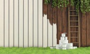 Fence painting and staining services in Milwaukee, WI