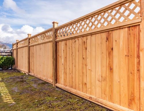 Cedar Wood Fence in Pewaukee, WI