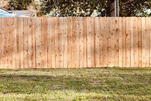 Cedar Privacy Fence in Waukesha