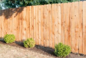Cedar Dog Ear Privacy Fence Installed in Oconomowoc