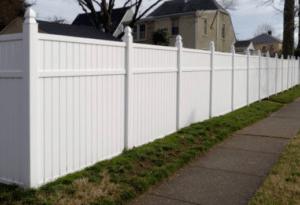 Germantown WI Vinyl Fence Installation