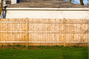 Wood Privacy Fence in Waukesha WI