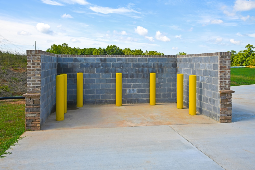 Dumpster Enclosure Installation Milwaukee and Waukesha