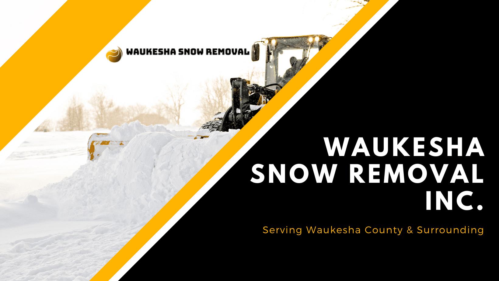 Snow Removal Milwaukee WI