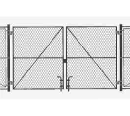 Milwaukee Fence Finders - Double Drive Chain Link Gate