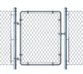 Milwaukee Fence Finders - Chain Link Walk Gate