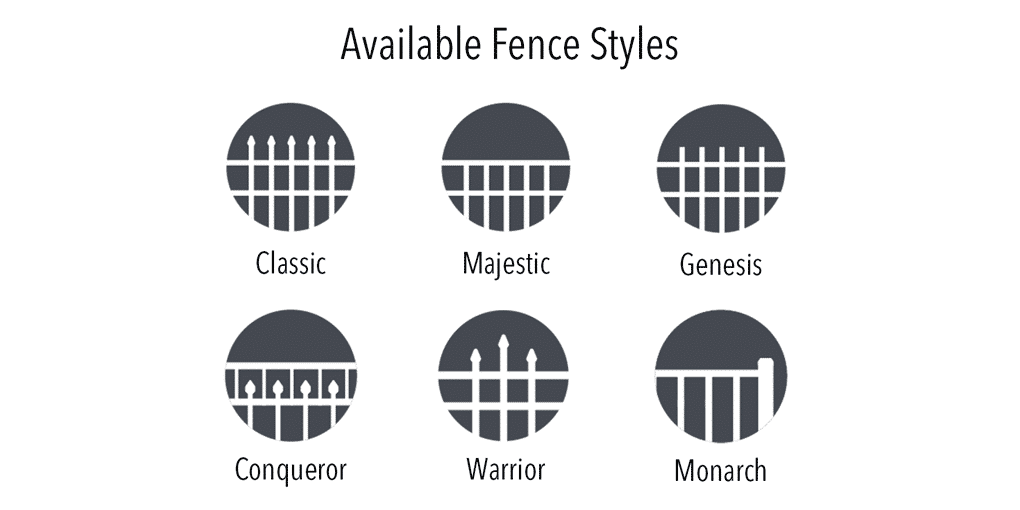 Echelon Fence Styles