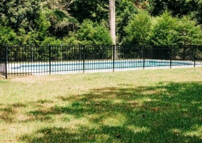 Installing Aluminum Pool Fence in Brookfield