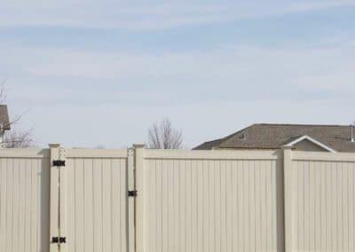 Brookfield WI Vinyl Fence Installed