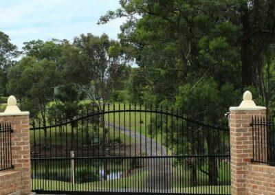 Custom Driveway Gates in Brookfield Wisconsin