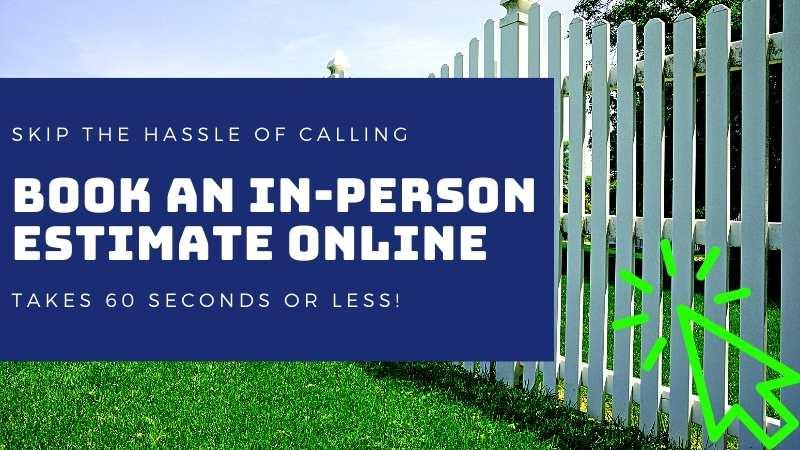 Schedule a Fence Estimate Online