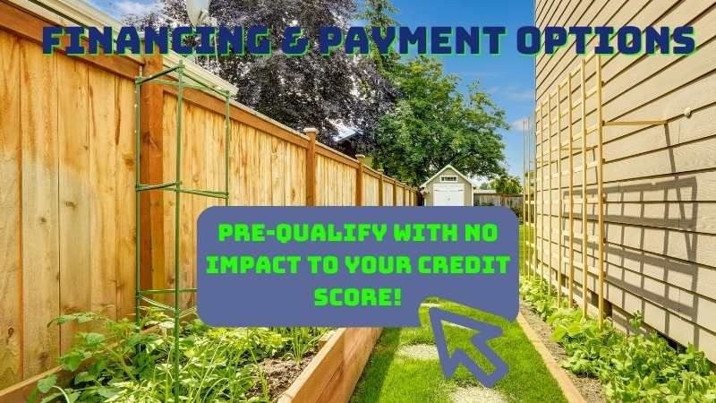 Fence Financing and Payment Plans for Milwaukee