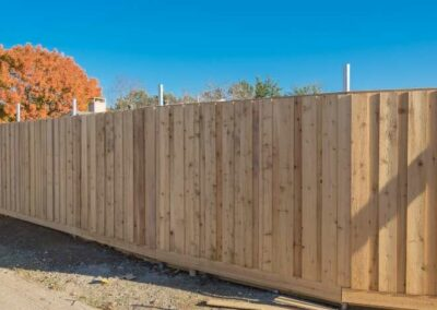 Brookfield WI Wood Privacy Fence