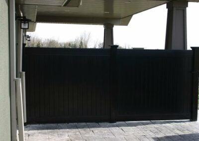 Black Vinyl Fence Waukesha
